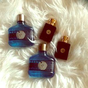 Versace, John varvatos men's fragrance